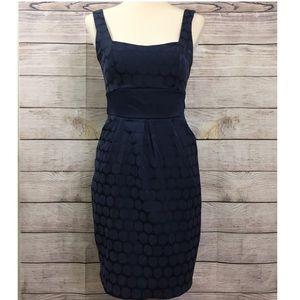 Jodi Kristofer Sleeveless cami sheath blue dress
